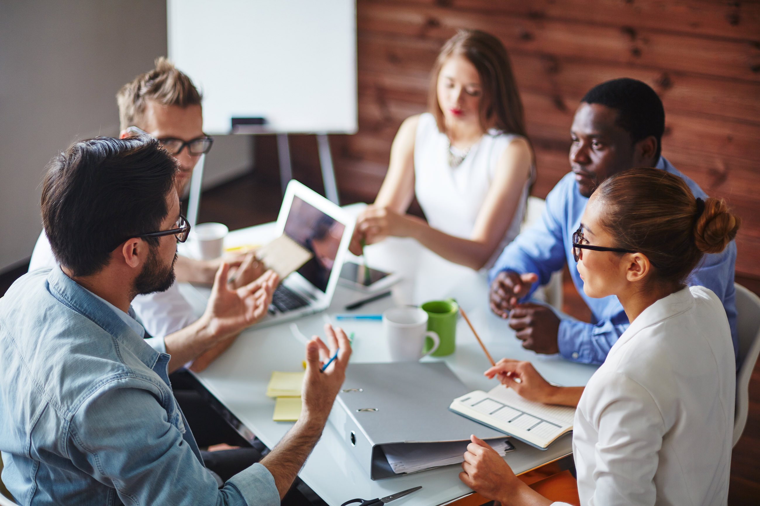 Leadership Discussion with Clients